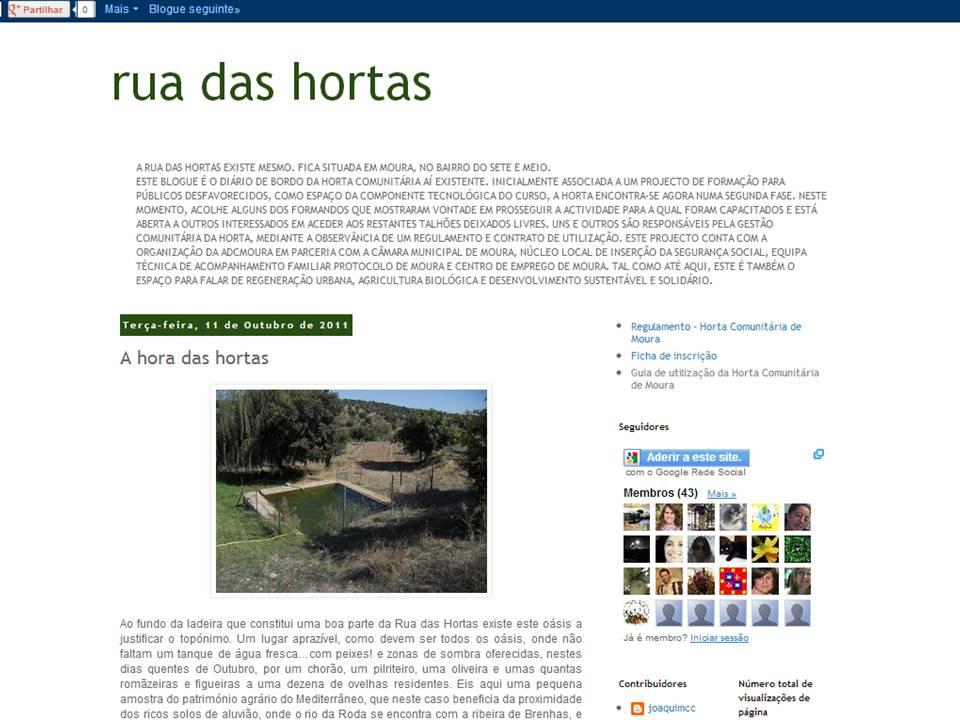Horta Comunitária de Moura