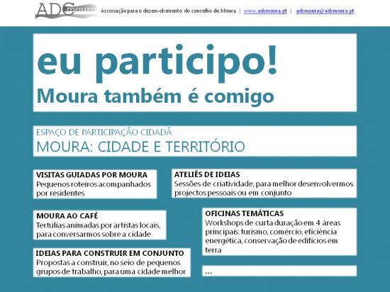 ESPAÇO PARTICIPATIVO – cartaz