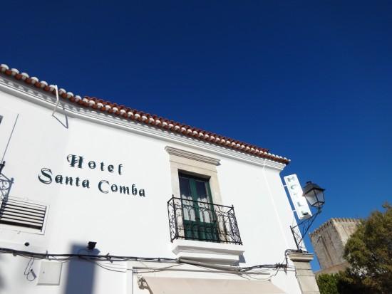 Hotel Santa Comba. fachada