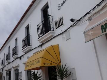 Hotel Santa Comba.recepção