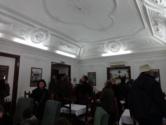 Hotel de Santa Comba – sala de refeições